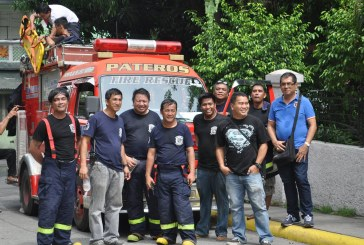 Pateros Volunteer Fire & Rescue Brigade from Philippines – 10th Year Anniversary
