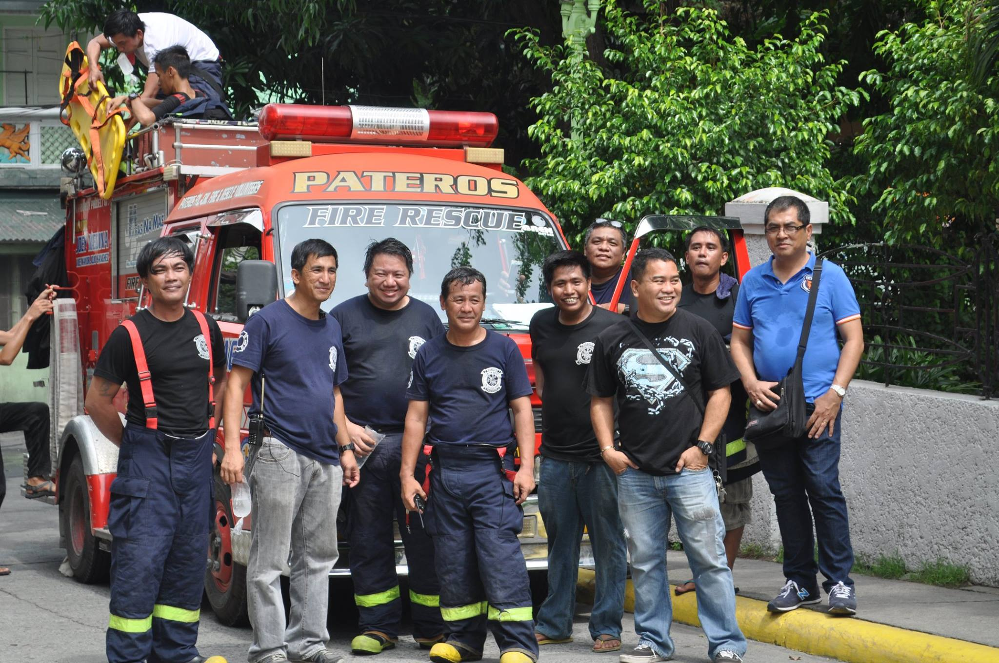 Pateros Volunteer Fire & Rescue Brigade from Philippines - 10th Year Anniversary | Emergency Live 4