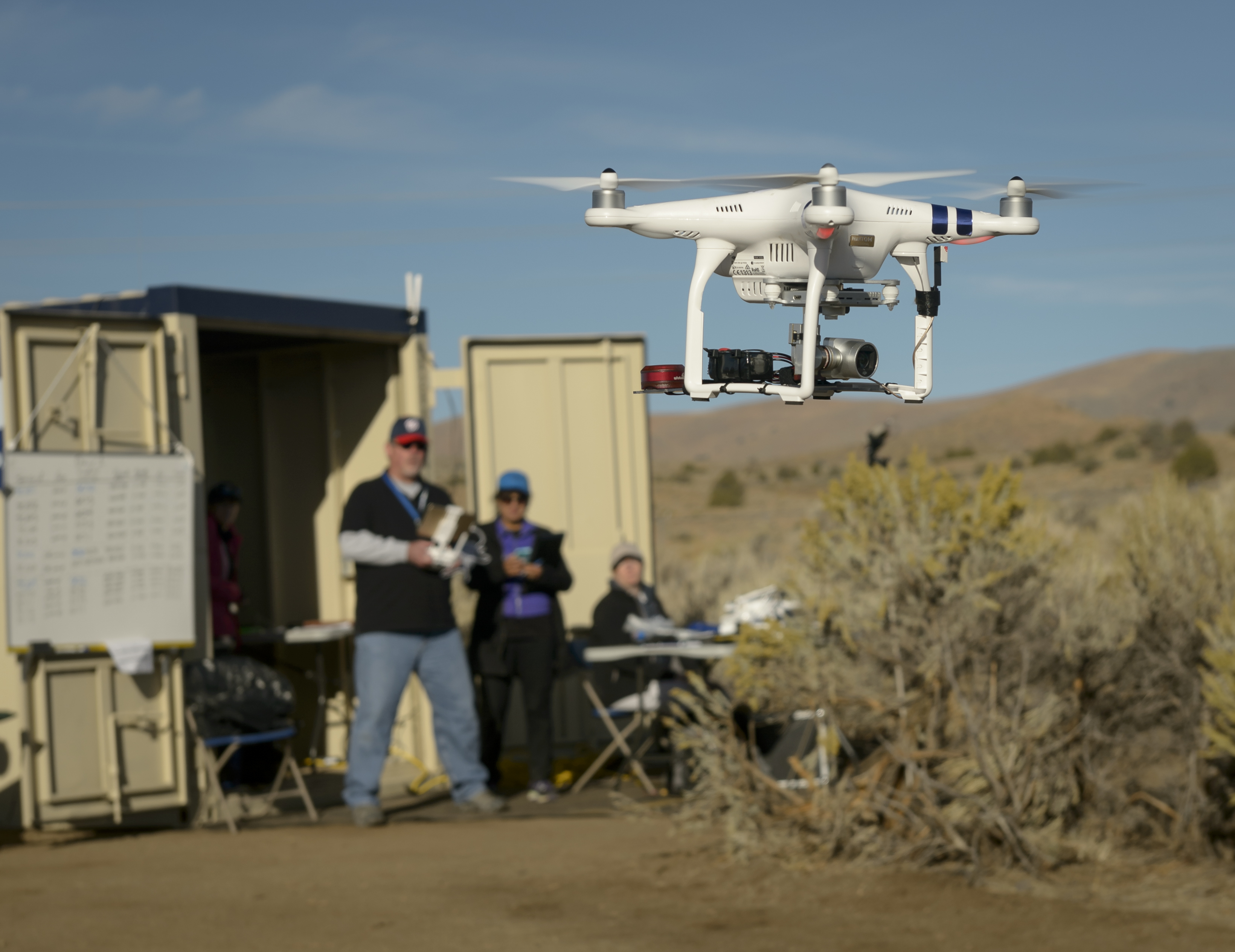 FREQUENTIS' location information supports NASA UAS test in Nevada