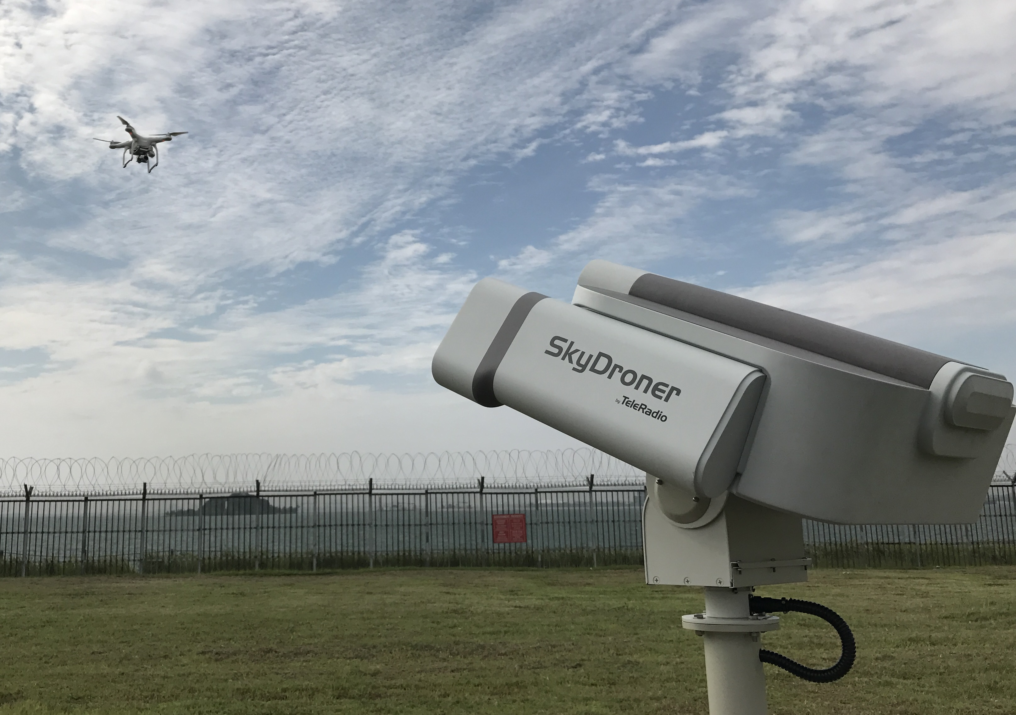 Intersec 2017 – Regional debut among scores of SkyDroner