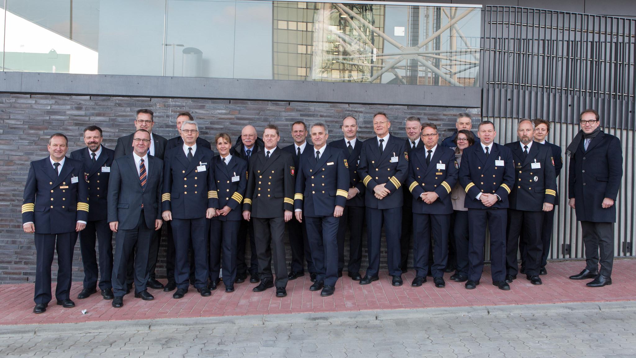 Urgence en direct | Ouverture officielle du Centre de sûreté et de sécurité maritime de Cuxhaven - Galerie de photos image 3