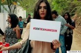 #DontBeAMannequin – Campaign against women harassment