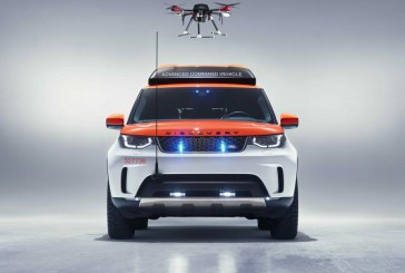Project Hero: A new Land Rover Discovery for the humanitarian project, created to help Red Cross Save Lives