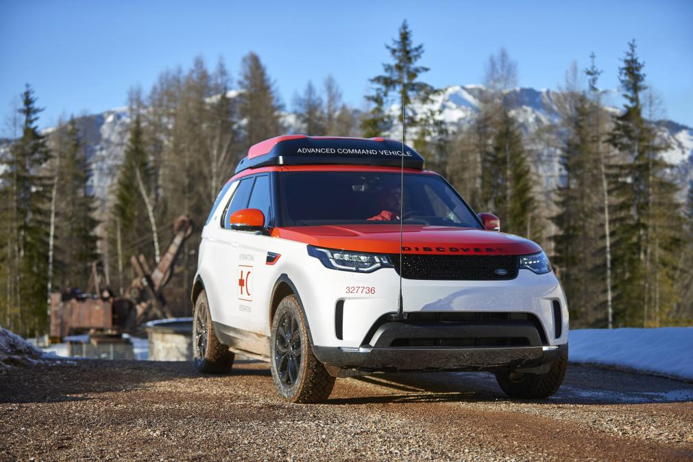 Urgence en direct | Project Hero: Un nouveau Land Rover Discovery pour le projet humanitaire, créé pour aider la Croix-Rouge à sauver des vies image 4