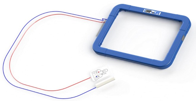 The cover that transforms tablet and laptop in defibrillators!