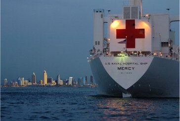 On USNS Mercy board – The biggest Naval Hospital in the world by US