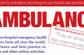 #Ambulance! – an occasion to share experience and gain knowledge and awareness