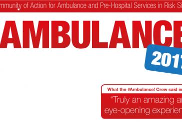 #AMBULANCE! 2017 – Join the #ambulance! initiative to increase health care awareness