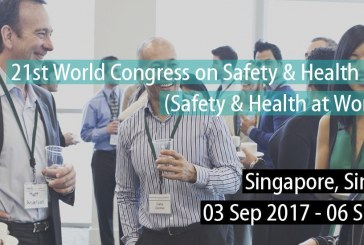 Best practices of work safety at 21st Congress on Safety & Health at work in Singapore