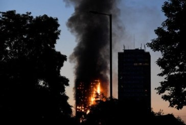 London – The Great Fire of Grenfell Tower
