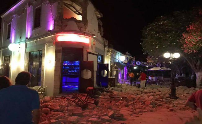 Greek island of Kos trembles: few deads but many injured people