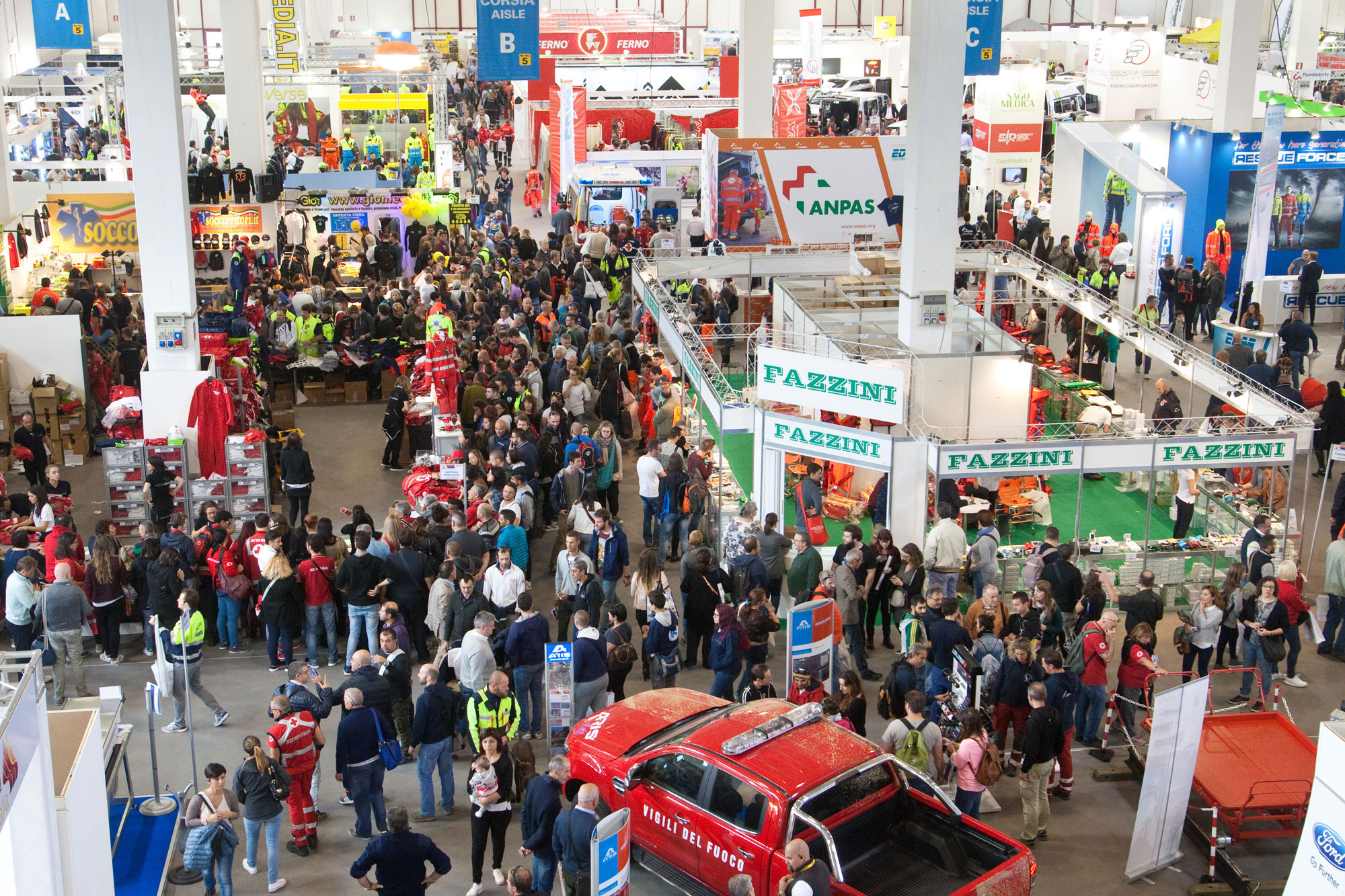 """REAS 2017 – Even more companies from abroad sign up for """"REAS powered by INTERSCHUTZ"""", from October 6th to 8th in Montichiari, Italy"""