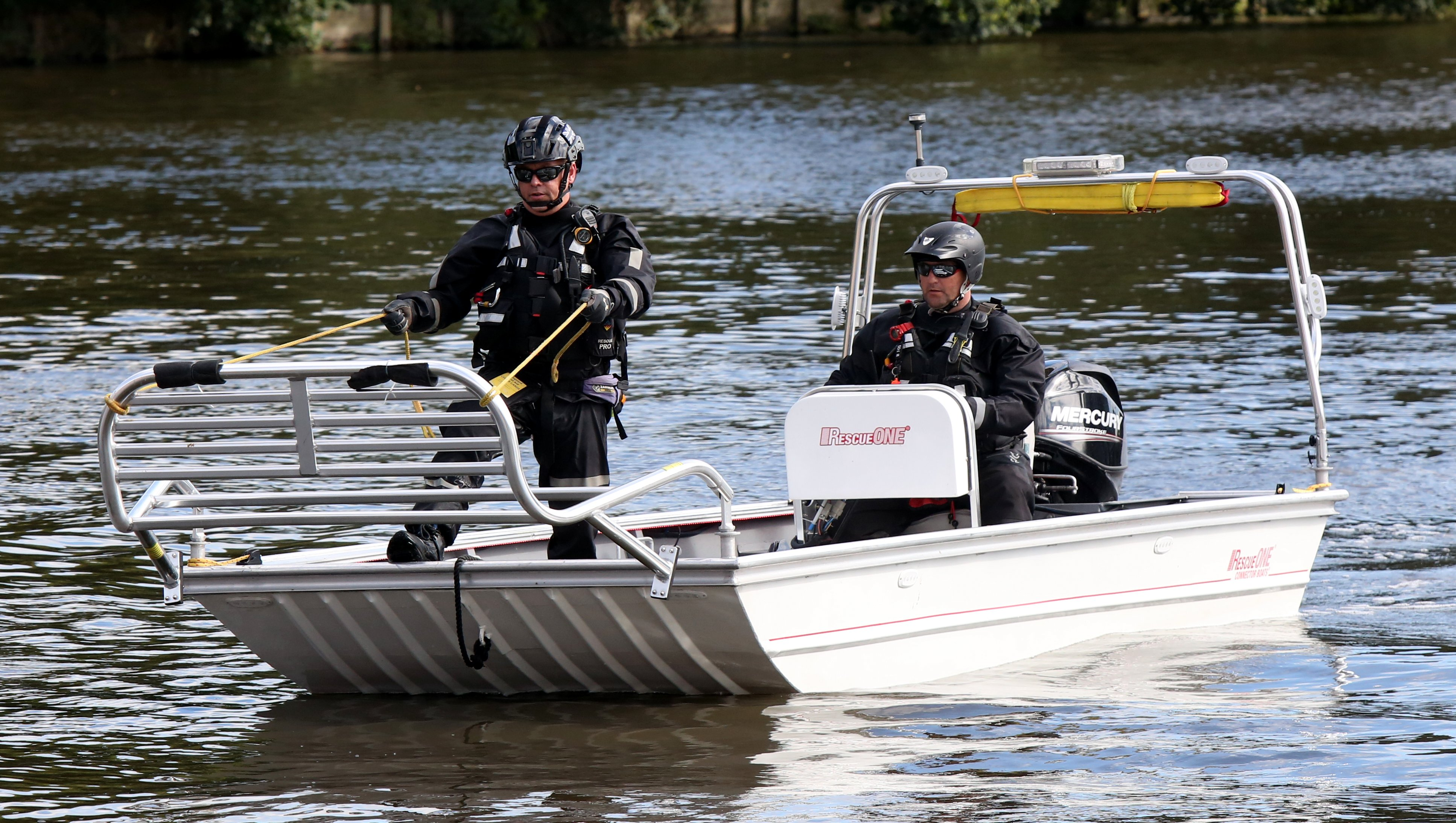 Waterborne SAR Demos will take place at The Emergency Services Show