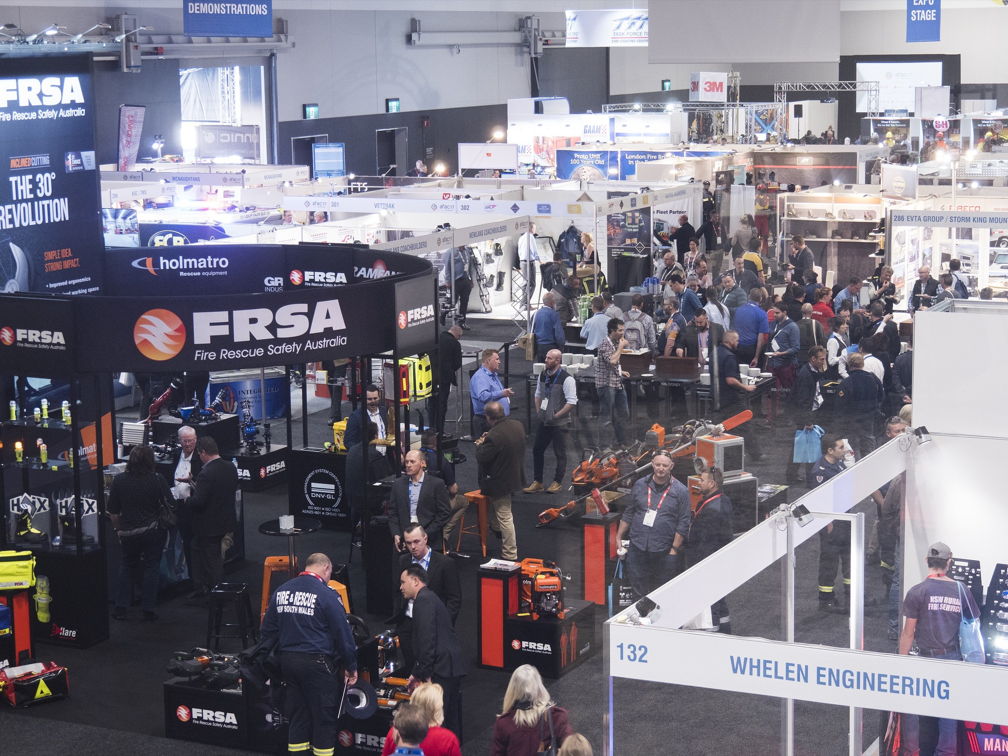 AFAC17 – Australia's emergency managers collaborate to break exhibition record