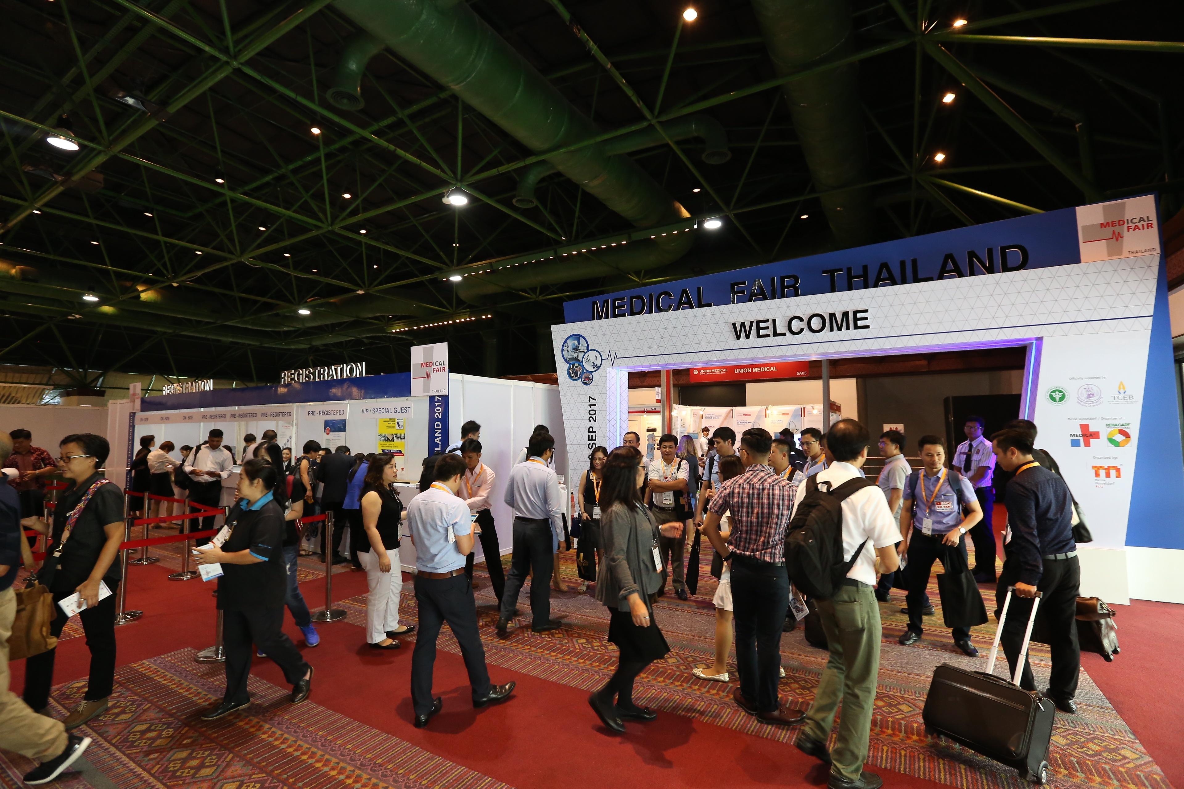 MEDICAL FAIR THAILAND sets record again