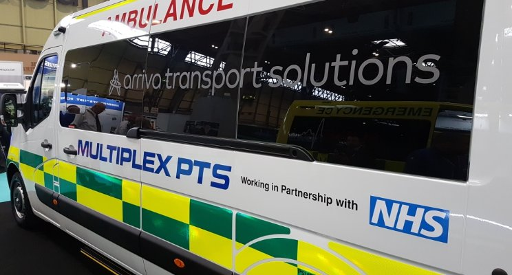 Emergency Service Show 2017 hosted the launch of a new ambulance