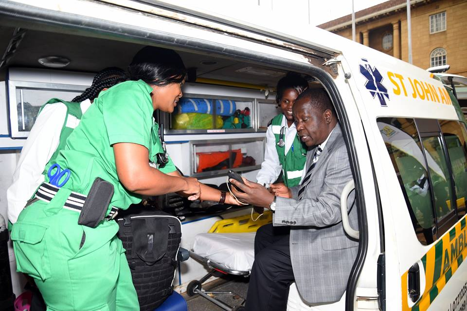 EMS in Kenya – St John Ambulance Service: a historic role to improve assistance
