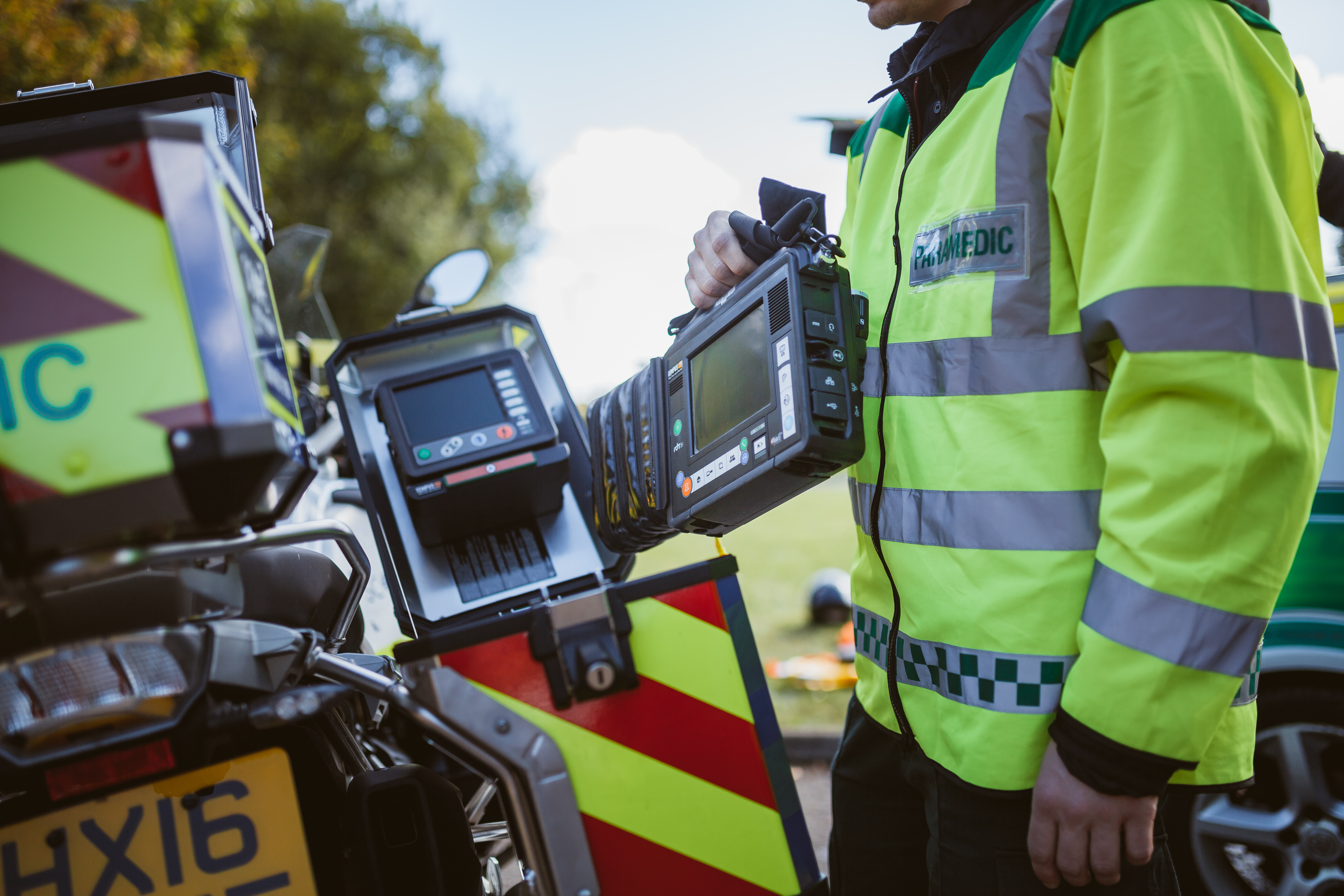 Tempus Als Lightens The Load For Paramedics And First