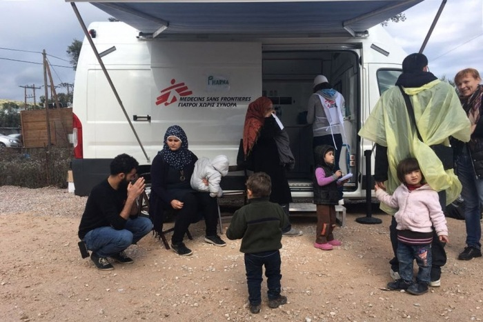 On the brink of humanitarian emergency for many families trapped on Greek islands