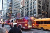 Explosion at Manhattan hub in the morning