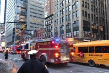 Explosion at Manhattan hub in the morning
