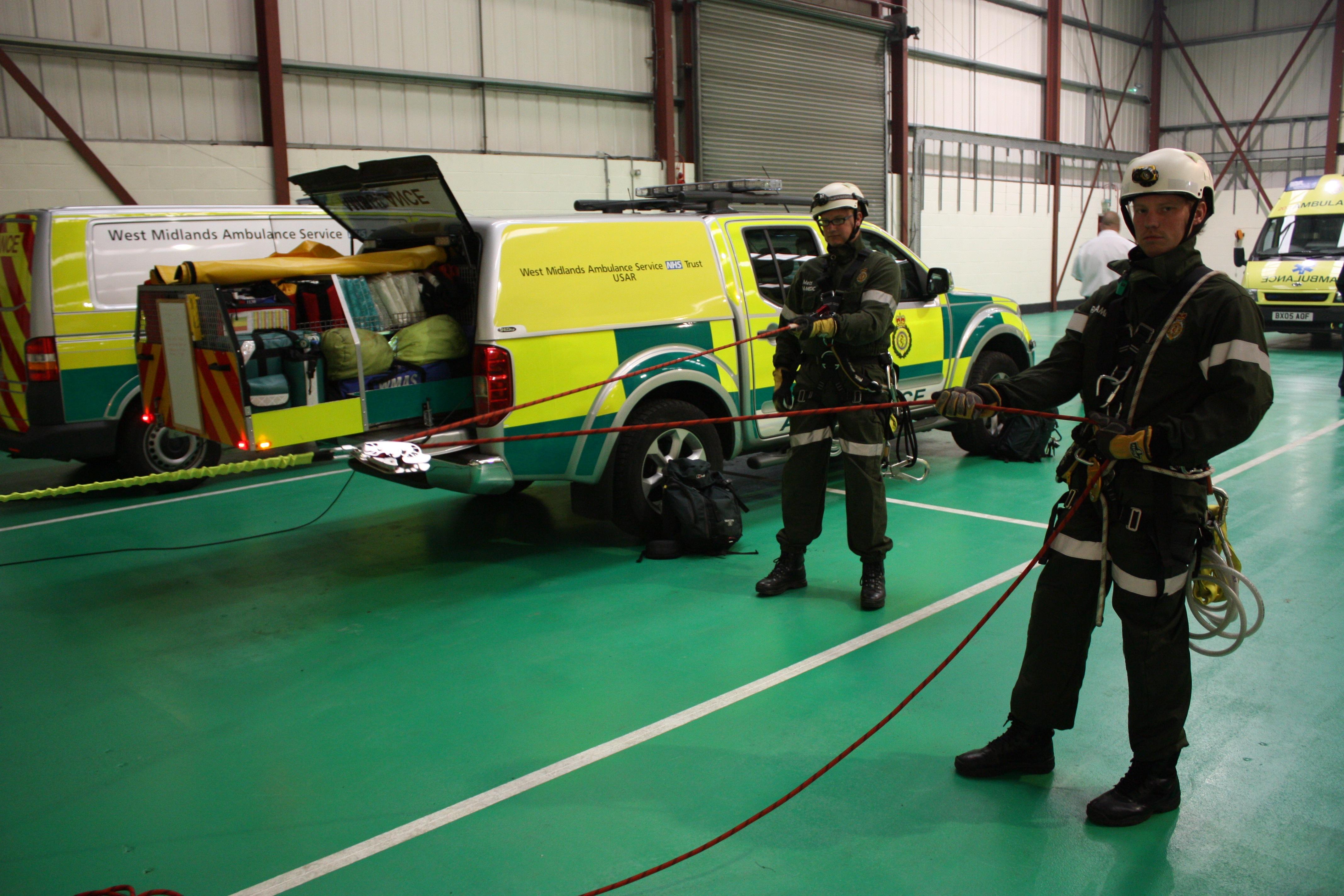 Emergency Live | Como o HART treina seus paramédicos? imagem 5