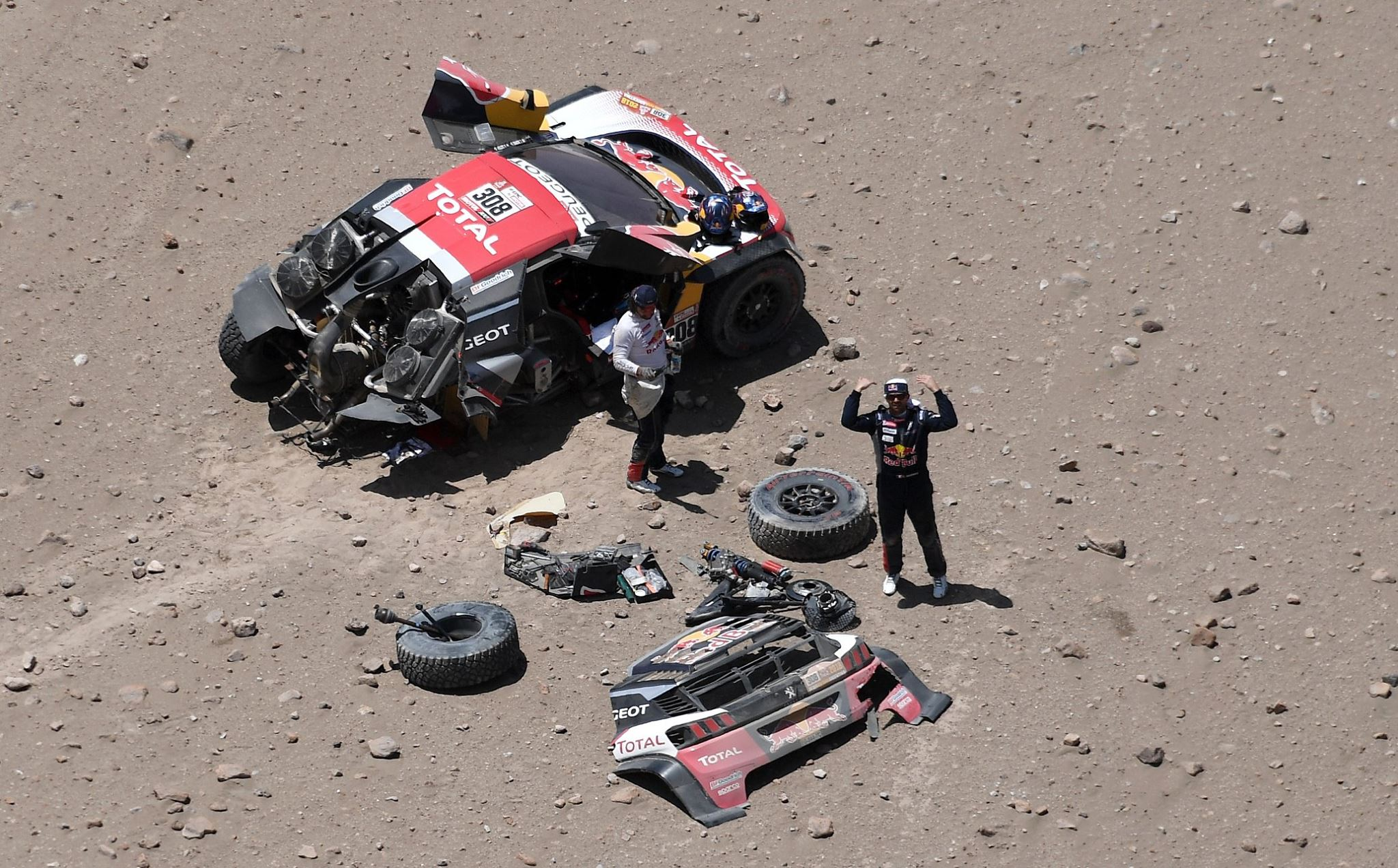 Rally Dakar: Descobrindo como funciona a assistência médica durante a corrida mais difícil do mundo | Emergency Live 3