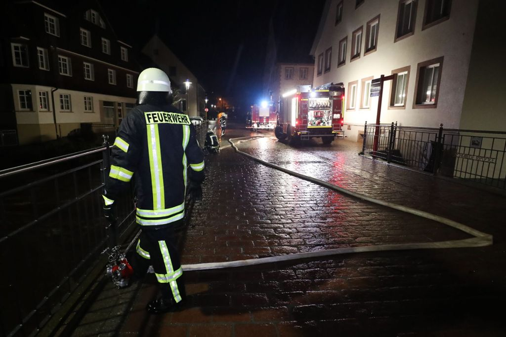 Germany – Firefighters struggle with flood in Black Forest area