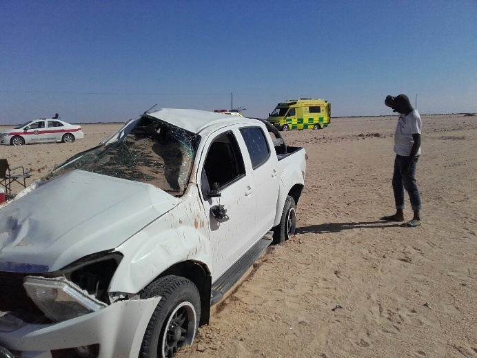 namibia – car accident