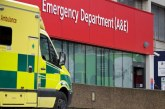 NHS crisis: delays at the A&E. Patients waiting for over an hour to get treatments