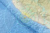 Violent earthquake in Peru tonight