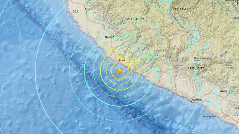 Erdbeben In Peru Heute