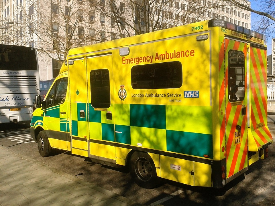 Emergency Ambulance London Vehicle Medical