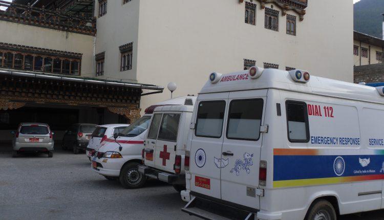 ambulance hospital bhutan
