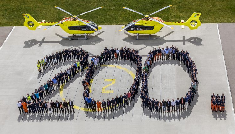 Delivery of the 200th H145 to Norsk Lufambulanse _ © C. Keller