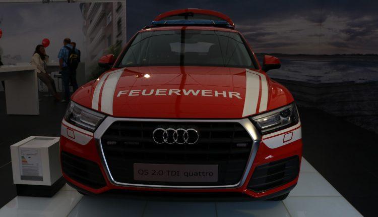 Audi Q5 feuerwehr