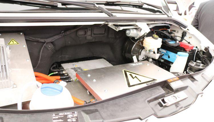 The WAS E-Koncept motor's van