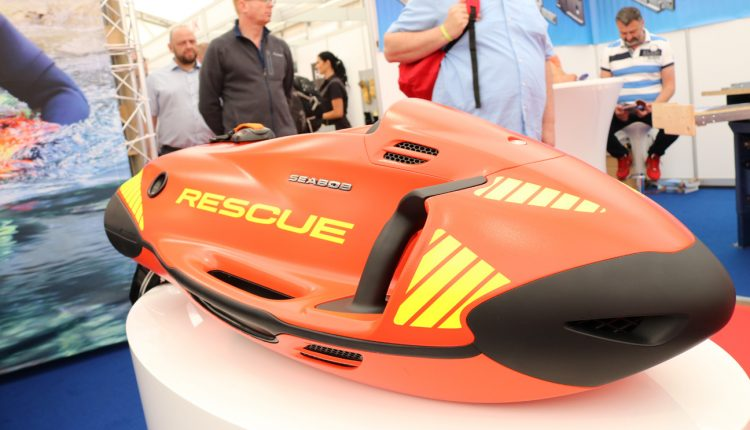 RESCUE SEABOB FOR FIREFIGHTERS AND CIVIL DEFENCE UNIT