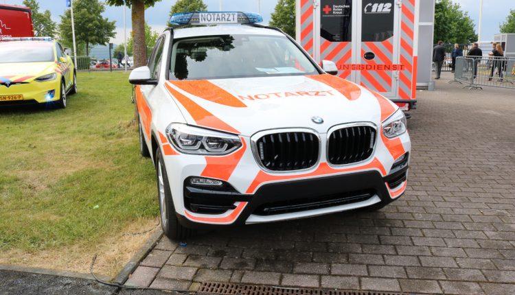 The BMW X3 NOTARZT