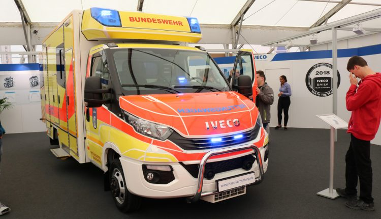 """The """"old"""" IVECO DAILY rettungswagen from Berlin with 250.000 km"""