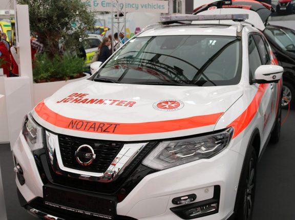 Nissan NOTARZT response unit for emergencies
