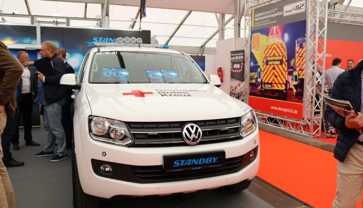 Volkswagen Amarok with standby equipments