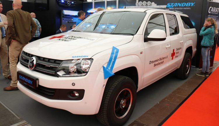 Volkswagen Amarok with standby equipments