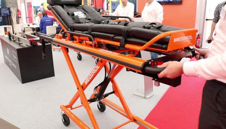 Medirol powered stretcher