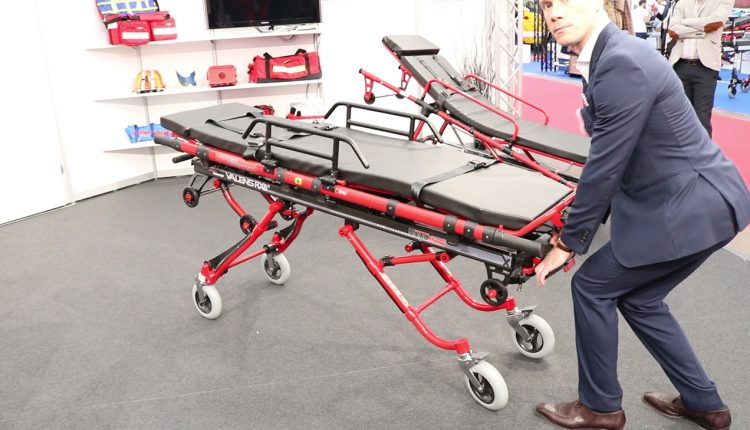 VALENS by Royax, a stretcher with adjustable high