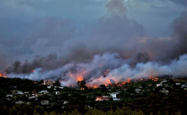 mati greece wildfires