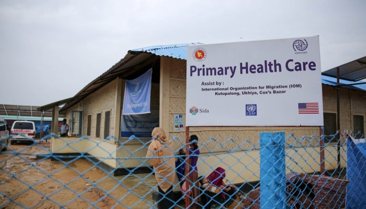 health-centre-rohingya-refugee-camp