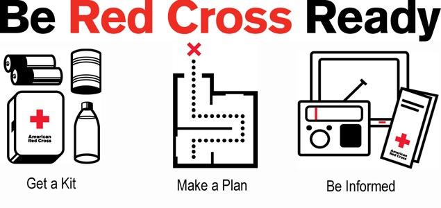 red cross emergency kit