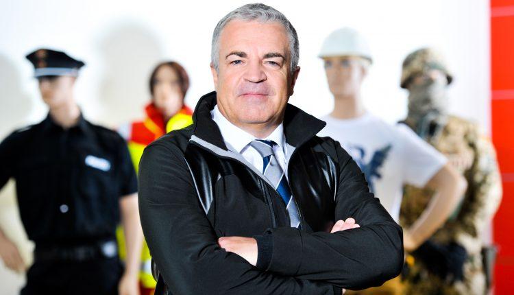 HAIX CEO Ewald Haimerl