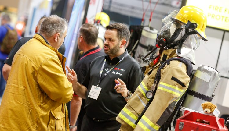 Talking on stand fire PPE